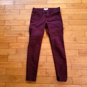 MNG | Maroon Paty Jegging Skinny